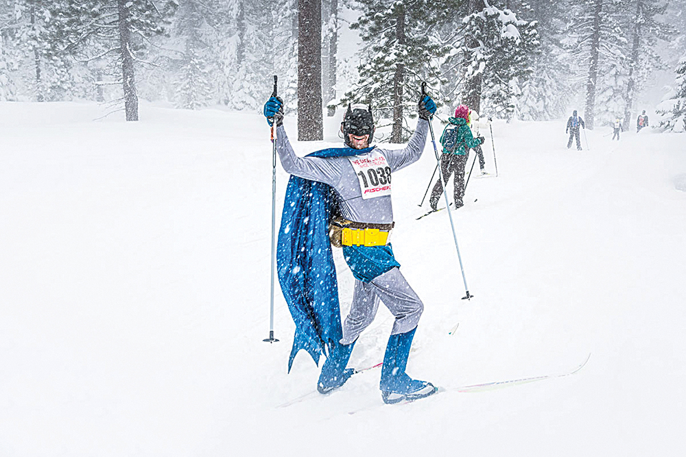 MARCH 3, GREAT SKI RACE: Join the 42nd Annual Great Ski Race from Tahoe City to Truckee, the largest Nordic ski race west of the Mississippi. Courtesy photo