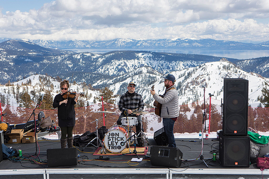 MARCH 29 TO 31, MOUNTAIN MUSIC: Get ready for some beer and bluegrass at this year's WinterWonderGrass Music Festival in Squaw Valley. Courtesy photo