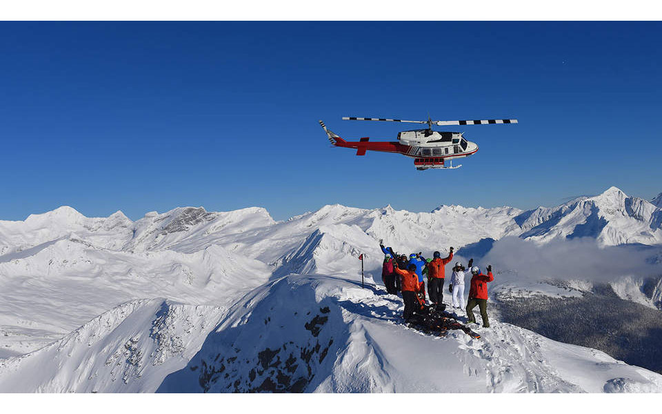 GET TO THE CHOPPA: At 3 million acres, the total CMH Heli-Skiing area is one-third the size of Switzerland. Courtesy photo